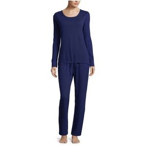 NWT Liz Claiborne 2-Piece Thermal Pant Pajama Set